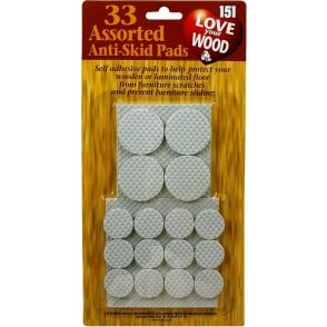 Assorted Anti Skid Pads Self Adhesive Pads Protects Wooden Laminate Flooring 151