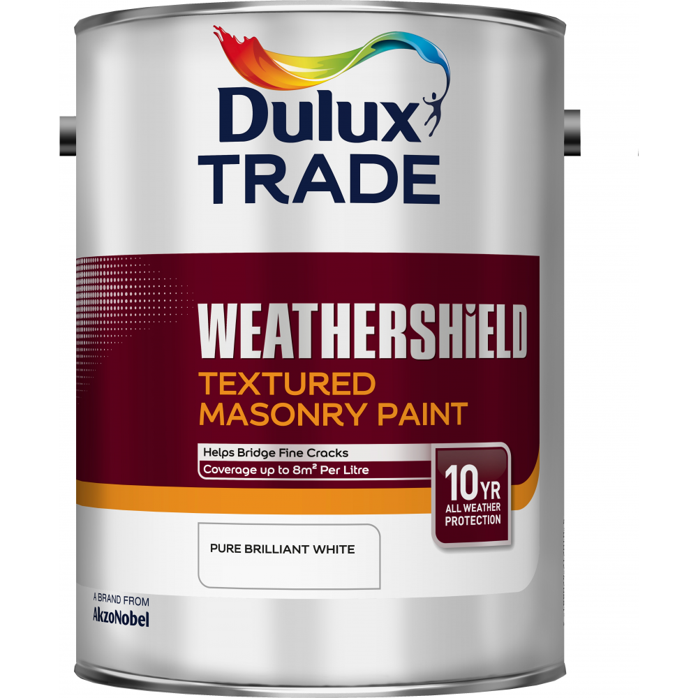 Dulux Trade Dulux Trade Weathershield Textured Masonry Paint