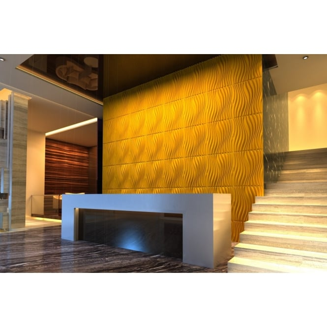 On1shelf® Natural Bamboo 3D Wall panel Decorative Wall Ceiling Tiles ...